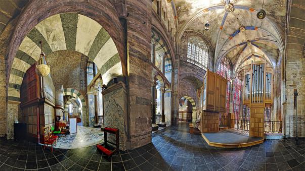 Panorama, Aachendom, Dom Aachen, JosWaS, Annakapelle, Josef Walter Schumacher