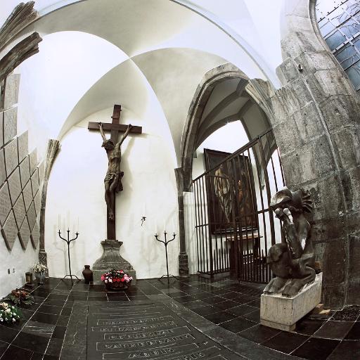 Grupello Kreuz Kruzifix, Dom Aachen, Kreuzgang / Foto: JosWaS / © Domkapitel Aachen