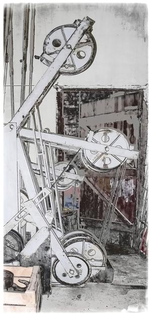 Stellwerk, Spannwerk, Walheim WF, Aachen, Denkmal