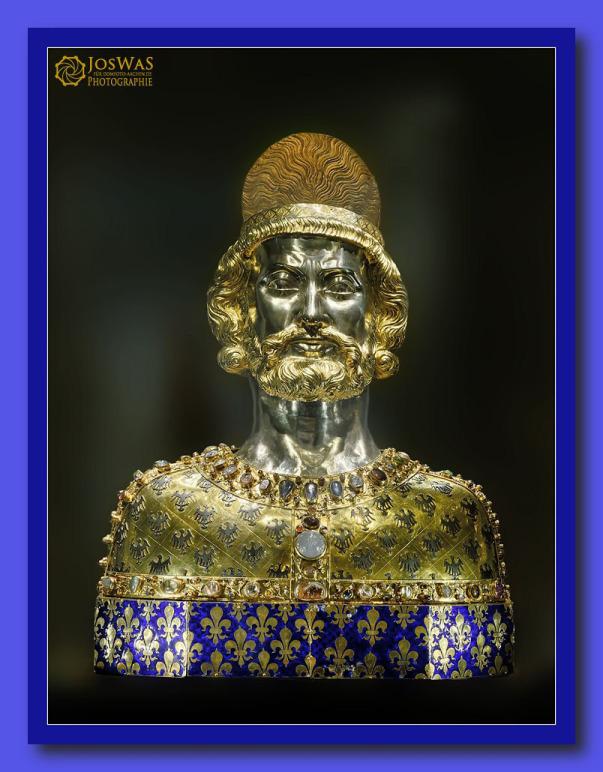 Kaiser Karl, Karl der Große, Reliquiar, Reliquie