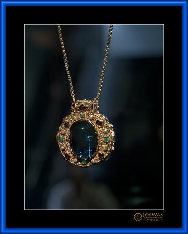 Amulett Kaiser Karl der Große Replik Talisman Aachen