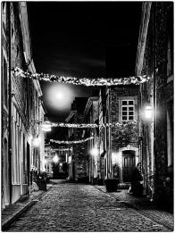 Stolberg bei Nacht | Arbeitsgruppe SW-Monochrom im Fotoclub 2000 Aachen