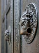 Detail Wolfstür / Haupteingang  Aachener Dom / Foto: © JosWaS