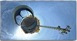 'kleine Planeten' - Little Planets  und weitere Projektionen  von Kugelpanoramen in Ebenen
