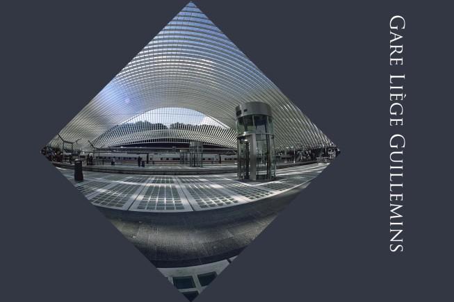 Gare Liège Guillemins - Bahnhof Lüttich - Station Luik | © JosWaS - Josef Walter Schumacher